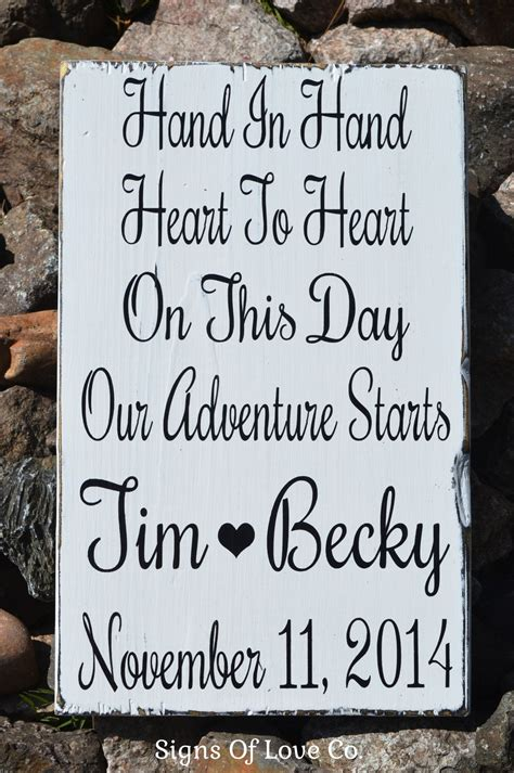 wedding gift sign ideas in to personalized rustic wedding