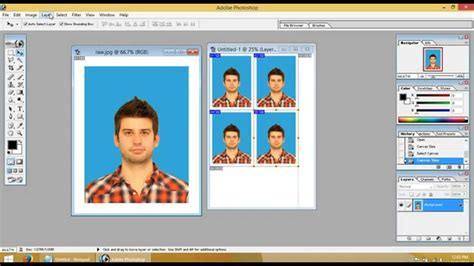 how to make a id card at home home made passport sized id card sized photo complete