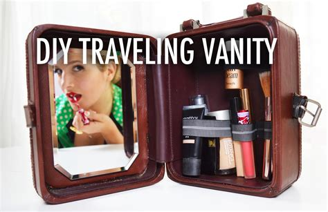 How To Remove A Vanity Diy Traveling Vanity And Make Up Case With Mr Kate Youtube