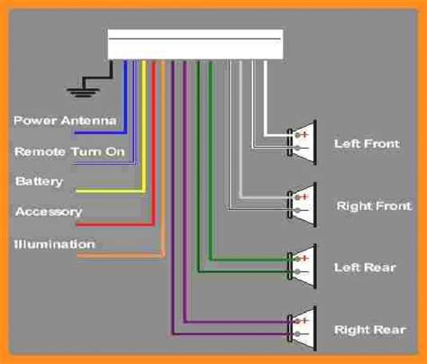 diagram of pioneer stereo wiring k