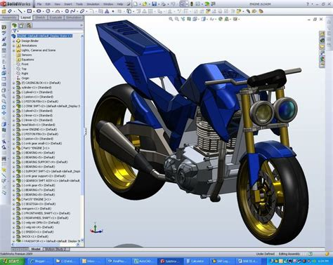 solidworks tutorial bike just design your own bike model by learning solidwork