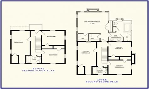 second floor addition plans second story addition floor plan up stairs addition ideas