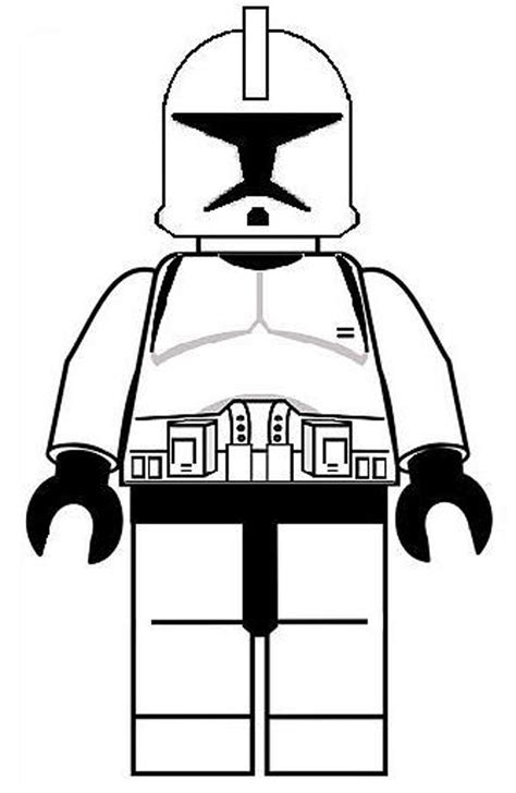 kidscolouringpages orgprint amp download lego star wars minifigures coloring pages