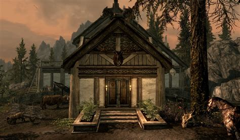 skyrim home decorating guide how to decorate your home in skyrim hearthfire