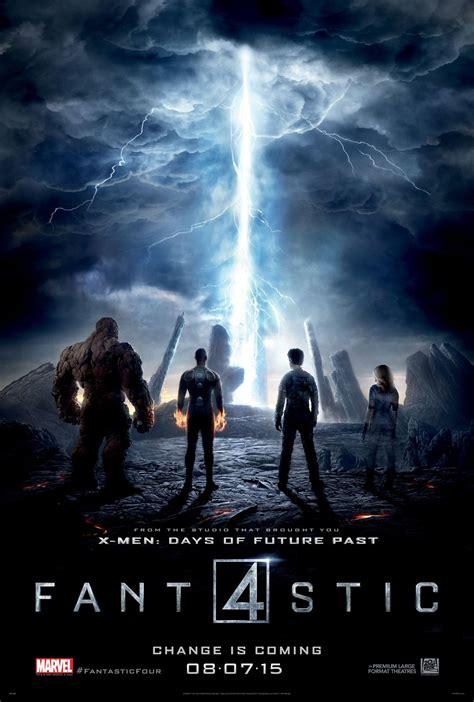 marvel film july 2015 poster les 4 fantastiques zone n 233 gative