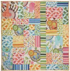 Urban free baby flannel quilt pattern by valori wells