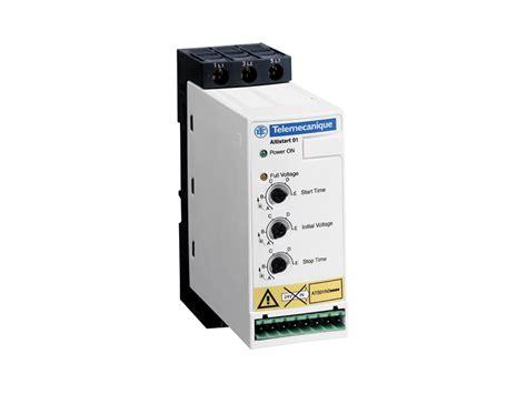 Schneider Ats01n212qn clipsal ats01n106ft soft starter 6a 110 480v