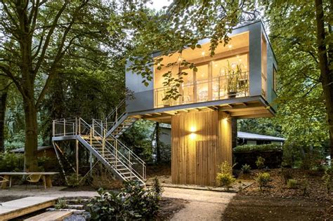 house plans germany modern tree house plans by ar baumraum in berlin germany