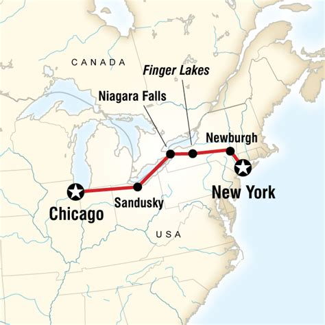 us map chicago new york new york to chicago road trip in eastern usa lonely planet