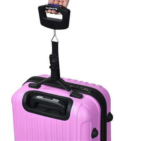 Luggage Handheld Electronic Scales 50kg digital travel portable handheld weighing luggage scales suitcase bag