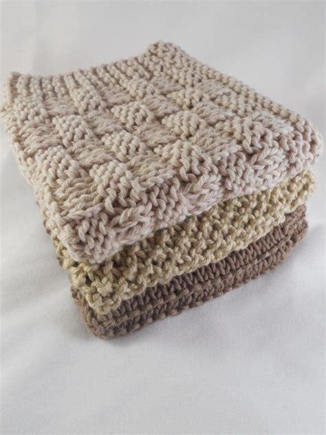 cotton yarn for knitting dishcloths knit organic cotton washcloths neutrals stitches