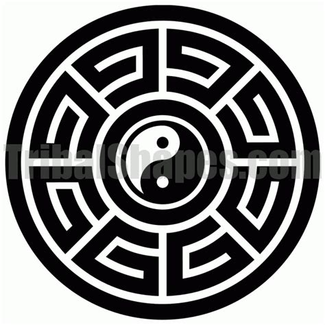 circle tribal tattoo quot circle 11 quot design
