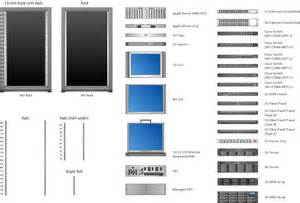 of server rack diagram visio stencils of wiring diagram