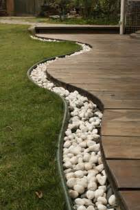 Landscape Edging With Rocks 35 Amazing Ideas Adding River Rocks To Your Home Design