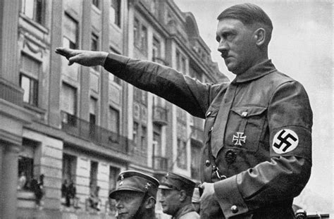 adolf hitler and the holocaust biography hitler at a nazi party rally 100 photographs the most