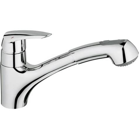 Robinet Evier Grohe Douchette by Mitigeur 233 Vier Douchette Extractible 2 Jets Eurodisc