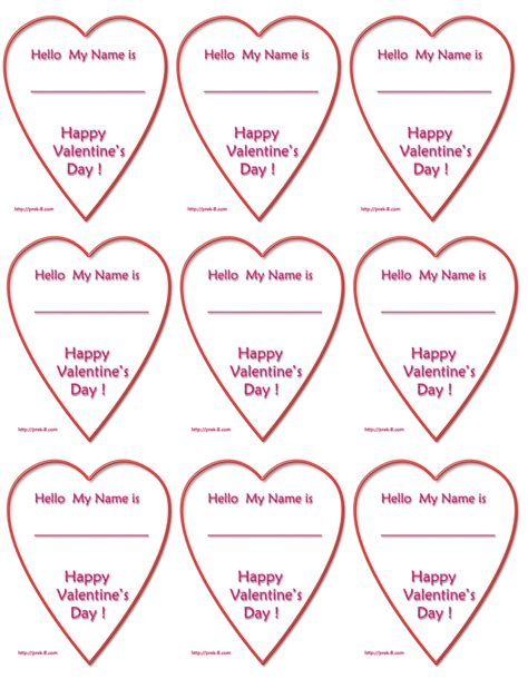 printable heart shaped name tags 6 best images of printable heart gift tag templates free