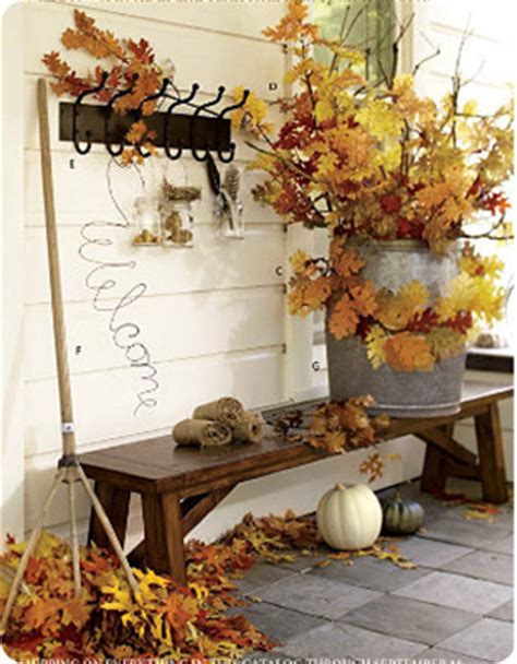 easy fall decor ideas pottery barn centsible savings d 233 cor on a dime fall mantel pottery