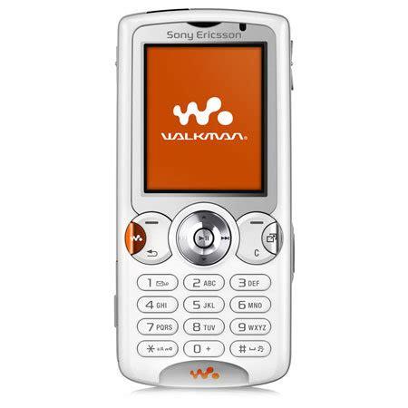 sim free mobile phone sony ericsson w810i walkman