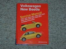 book repair manual 2008 volkswagen new beetle electronic toll collection vw beetle service manual ebay