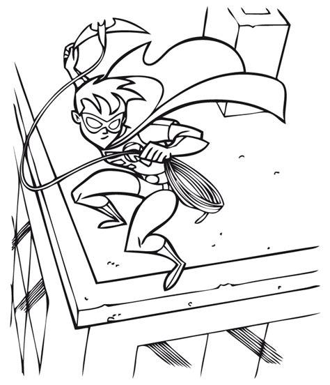 dibujos para colorear batman robin batgirl y batman para imprimir robin en acci 243 n dibujalia dibujos para colorear