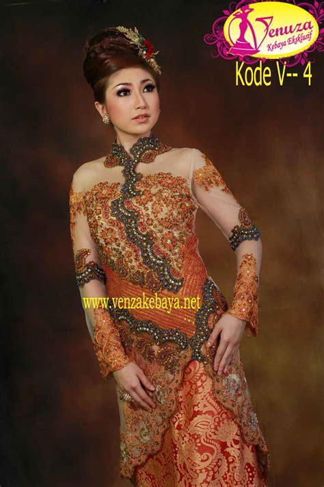 Dress Batik Handmade Kode T 881683 kebaya eksklusif kode v 5 venza kebaya wedding service bridestory