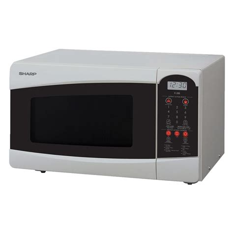 Microwave Sharp sharp microwave oven r 25c1 s at esquire electronics ltd