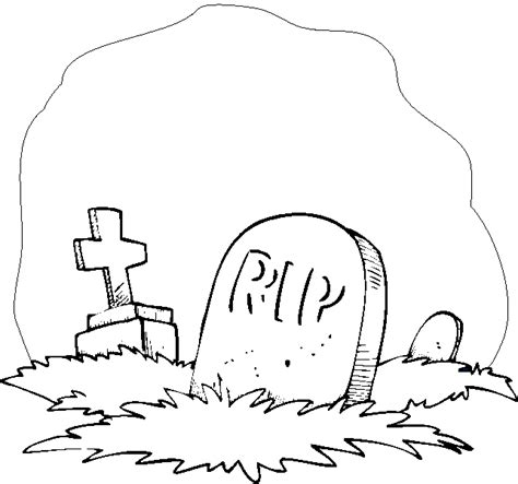 imagenes de halloween tumbas tumbas para colorear imagui