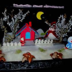 winter shoebox diorama kids arts and crafts art attack