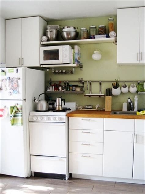 apartment kitchen storage ideas inspirație bucătării mici decorette