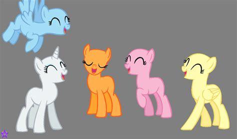 five ponies mlp base image gallery mlp base 7