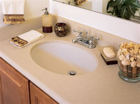 solid surface bathroom sinks and countertops solid surface countertops hgtv