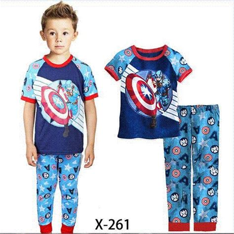 Pajamas Caluby Minion best quality brand caluby boys sleepwear children