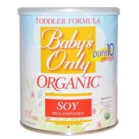 Nature S One Toddler Formula Soy Iron Fortified 12 7 L A Baby 2 In 1 Organic Soy Foam Crib Mattress