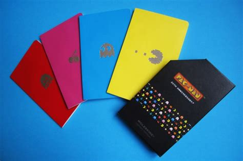 pac 30th anniversary pac graces limited edition moleskine notebooks wired