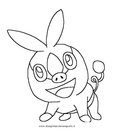 pokemon coloring pages of snivy free n tepig coloring pages