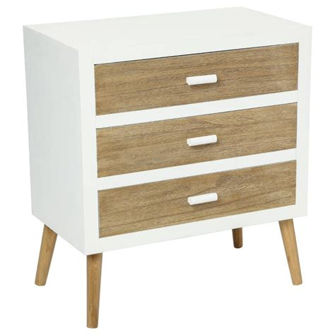 Commode 3 Tiroirs by Commode 3 Tiroirs Quot Helga Quot Blanc