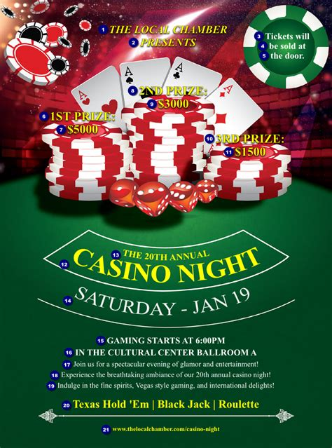 Casino Chips Flyer Ticketprinting Com Casino Flyer Template Free