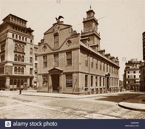 we buy houses boston usa boston old state house pre 1900 stock photo royalty free image 64403786 alamy
