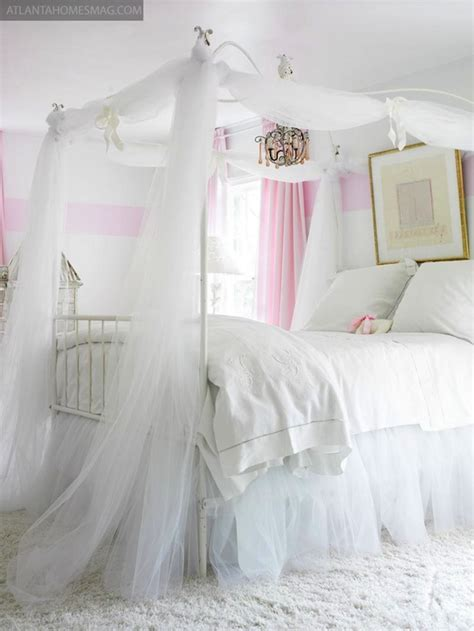 little girl canopy bed curtains girl s canopy bed traditional girl s room atlanta