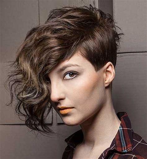 perm for asymmetrical hair cut 20 short cuts for curly hair short hairstyles 2017