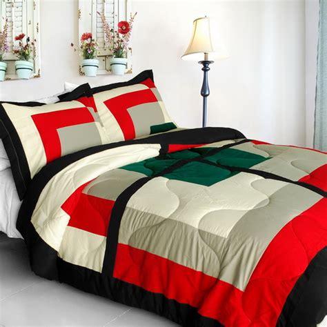 home design down alternative full queen comforter beauty demi quilted patchwork down alternative comforter