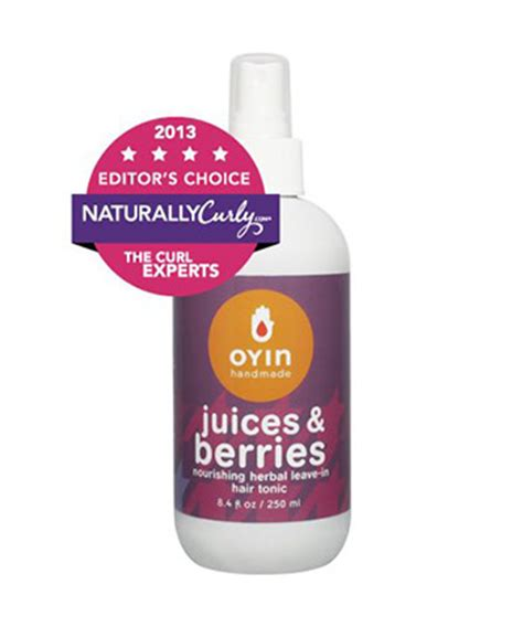 Oyin Handmade Juices And Berries Review - top 20 detanglers for curly hair