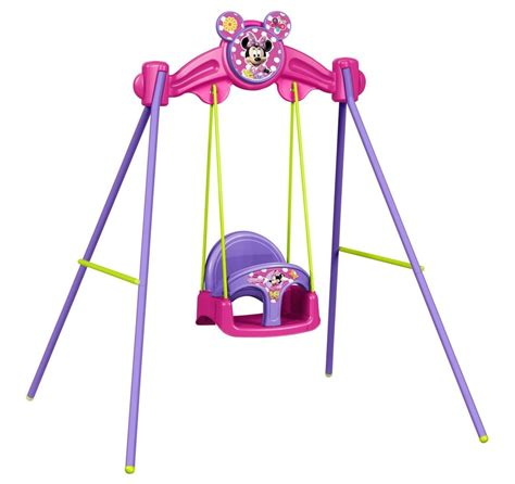 minnie mouse swing altalena da giardino per bambini baby minnie famosa disney