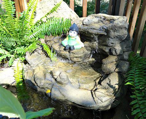 rock waterfalls for gardens garden waterfalls home outdoor decoration