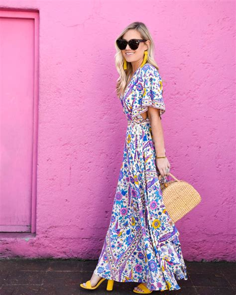 Pocket Maxi Rainbow Dress colorful maxi dress photo album best fashion trends and