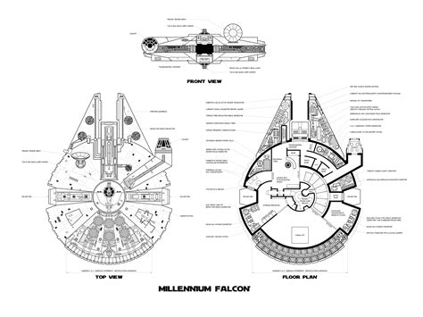 a floor plan of the millennium falcon from star wars from millennium falcon by becca0024 on deviantart