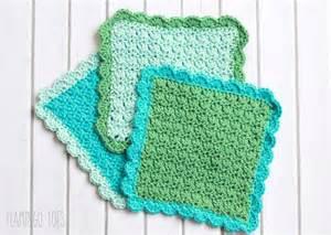 easy crochet dish cloth pattern i love this yarn
