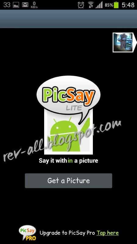 membuat blog dari android android picsay membuat komik dari foto reviewku