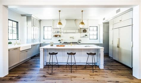 Bundy brentwood modern farmhouse transitional kitchen los angeles by boswell construction